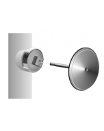 MIFAB C1430-RD Round Stainless Steel Smooth Access Cover with Bronze Cleanout Plug & Screw