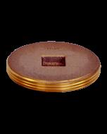 Josam 58540 Cleanout - Recessed Threaded Bronze Plug