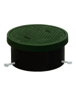 Josam 58580 Cleanout - ABS Housing with Heavy Duty Cast Iron Top