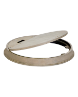 Josam 58620 Cleanout - Round Hinged Nikaloy Wall Or Floor Access Frame & Cover
