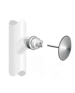 MIFAB C1440-RD Expandable Line Cleanout with Round Stainless Steel Smooth Access Cover & Screw