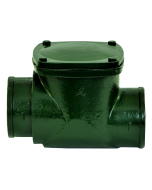 Josam 67400 Backwater Valve - Swing-Check Type with No-Hub Connections