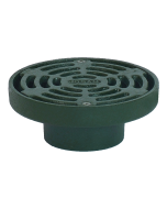 Josam 85903-Z Cast Iron Drain with Medium Duty Slotted Grate - No-Hub Outlet