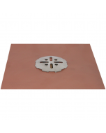 Thunderbird Copper Balcony Deck Drain