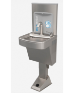 Murdock® Wall Mounted Foot Operated Hand Washing Station