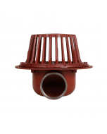MIFAB R1200-90 Large Sump Roof Drain with Side Outlet