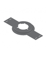 MIFAB F1910 Floor Drain Installation Stabilizing Plate with Flange - For A1 Bodies