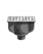 "MIFAB FS1530 8"" x 4"" x 4"" Deep Floor Sink"