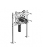MIFAB MC-61 Floor Supported System with Outlet Connections for Wall Urinals and Service Sink