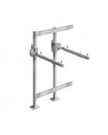 MIFAB MC-41-TR Fixture Carrier with Concealed Arms and Measuring Plates