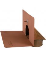 Thunderbird Copper In Wall/Scupper Drain