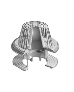 MIFAB R1200-F Large Sump Roof Drain with Parabolic Flow Control Weir