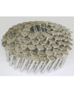 Stainless Steel (304) 15˚ Coil-ated® Roofing Nails - Ring Shank (Full Carton)