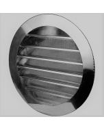 Stainless Steel Round Louvered Gable Wall Vent