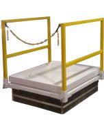 """M1 Roof Hatch with 36""""x30"""" Safety Rail with Chain"""