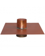 Thunderbird Copper Separate Overflow Drain