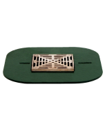 Josam 30000-ST-WF6S Floor Drain with Nikaloy Composition Deck Type Strainer with Wide Flange
