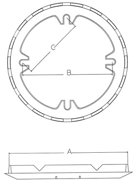 4-Bolt-Hole-Ring